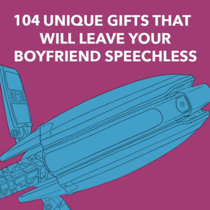 Unique Gifts For Boyfriend Square