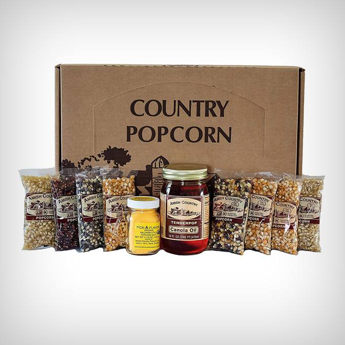 Amish Country Popcorn Gift Set