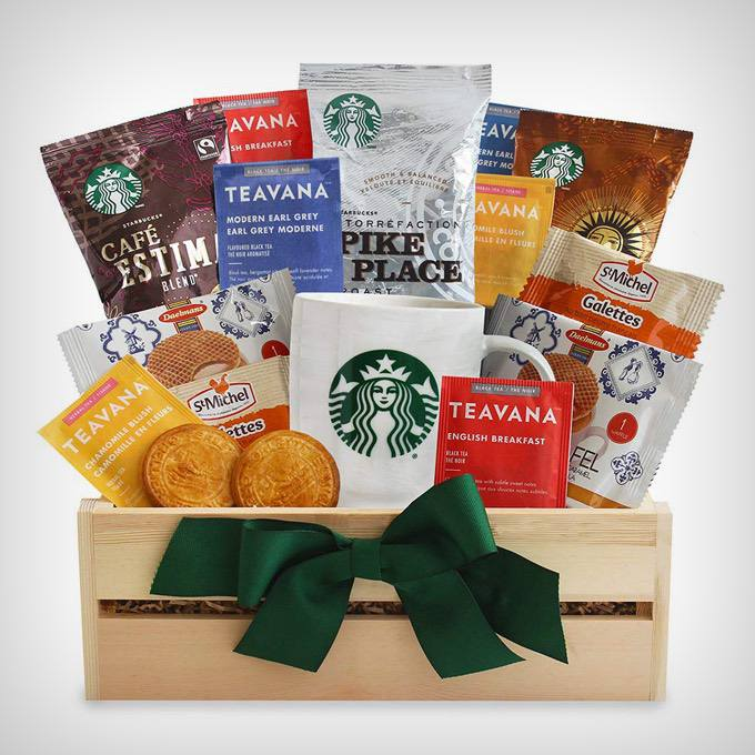California Delicious Starbucks Daybreak Coffee Gift Basket