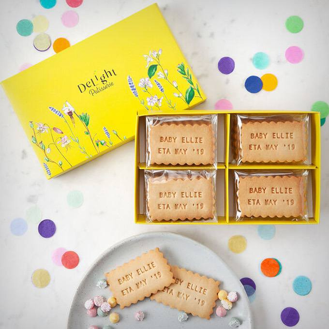 Custom Message Shortbread Cookies
