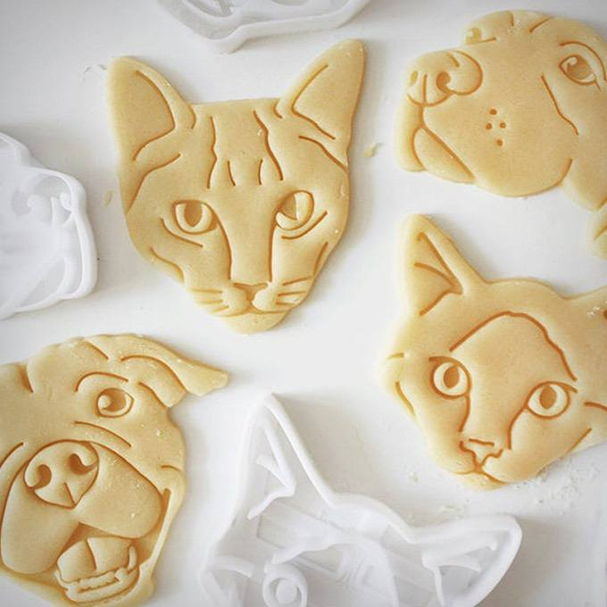 Custom Pet Portrait Cookie Cutter