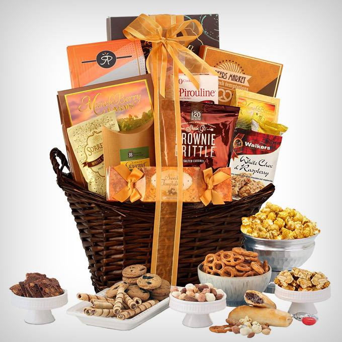 Kosher Chocolate & Sweets Gourmet Gift Basket