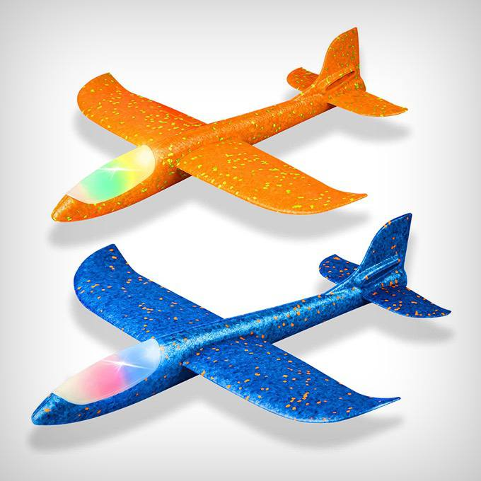 LED Light Airplanes
