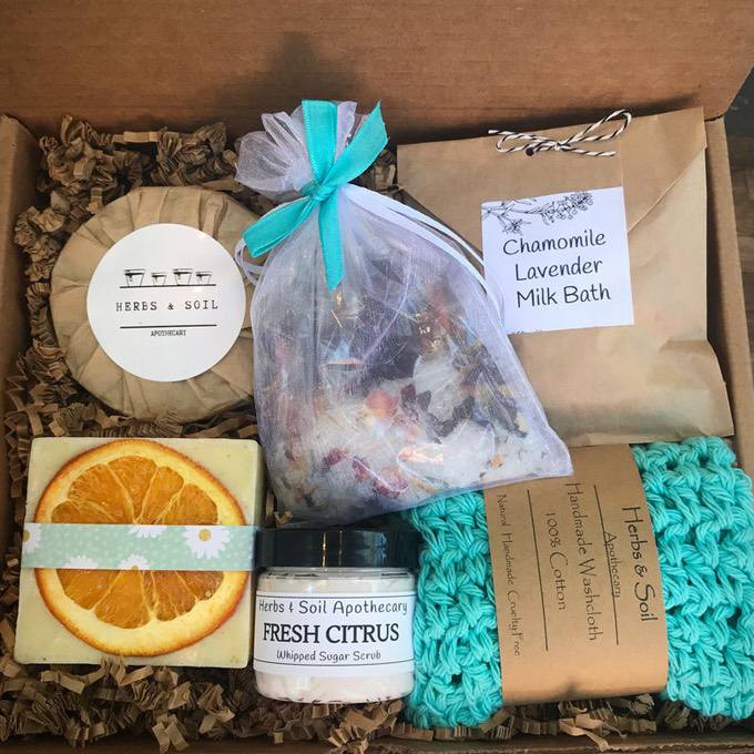 Sweet Sunshine Gift Basket