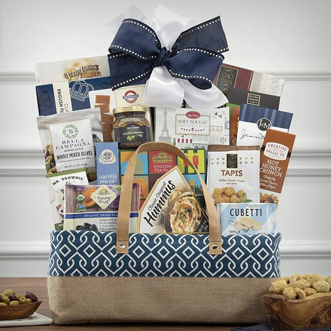 The Connoisseur Gourmet Gift Basket