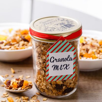 Homemade Granola In A Jar