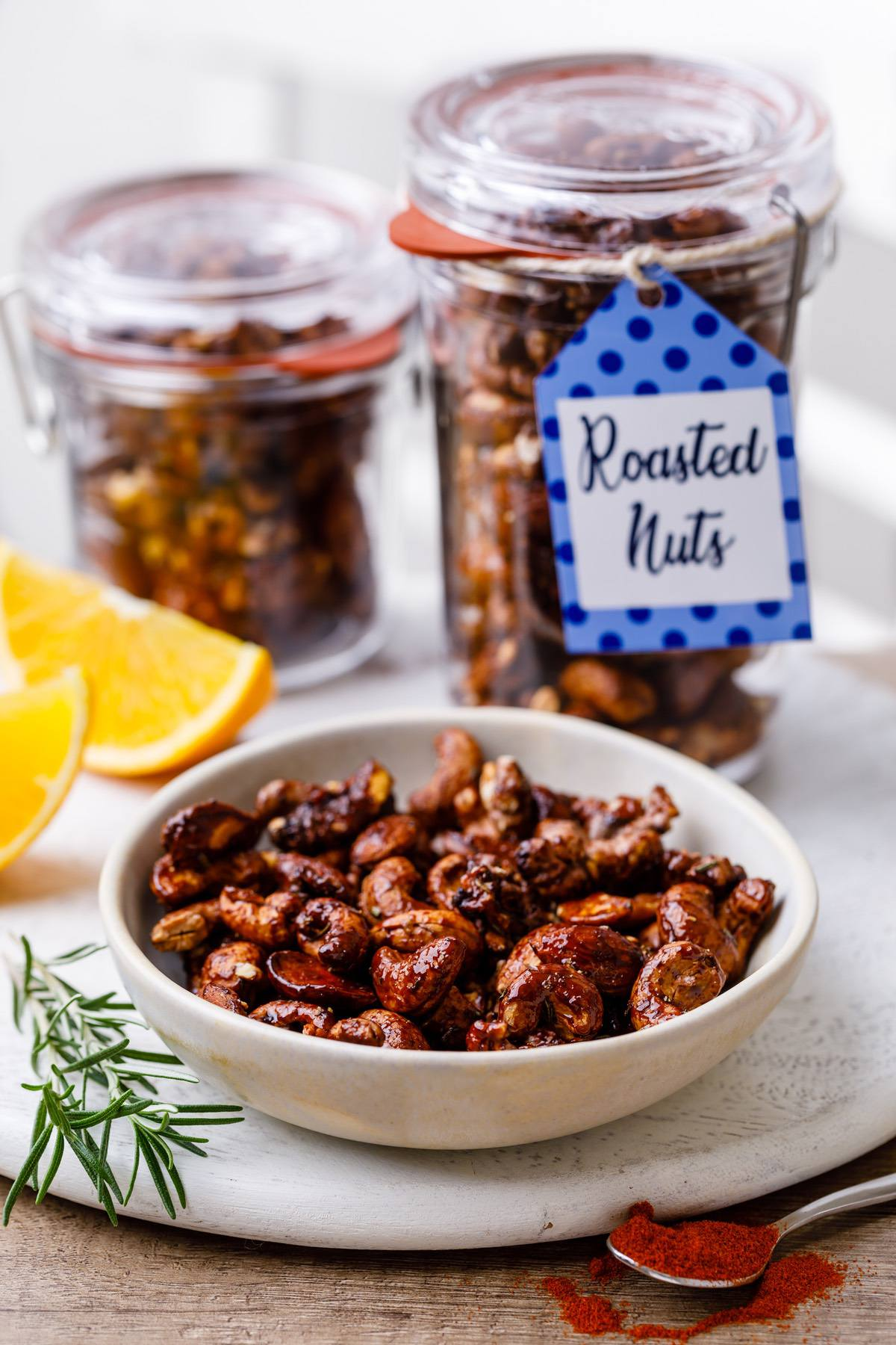 Homemade Roasted Nuts