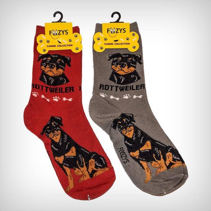 Gifts for Dog Lover Mom Dad Rottweiler Dog Socks for Men Women Boys Girls