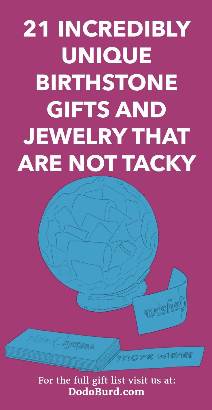 21 Incredibly Unique Birthstone Gifts and Jewelry That Are Not Tacky