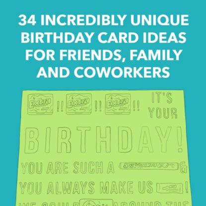 Birthday Card Ideas Square
