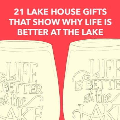 Lake House Gifts Square